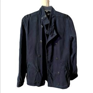 Billabong 100% cotton  double breasted Naval inspired jacket size Medium